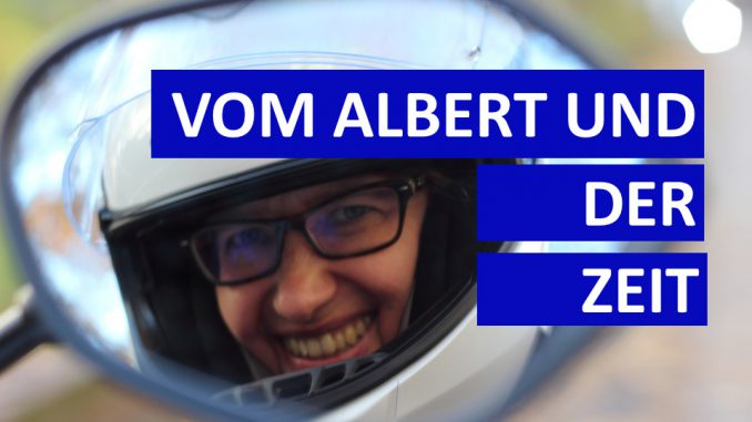 Sabines Motorrad-Kolumne und das Thema mit der Zeit