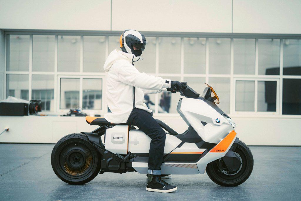 BMW Elektro-Scooter Definition CE 04