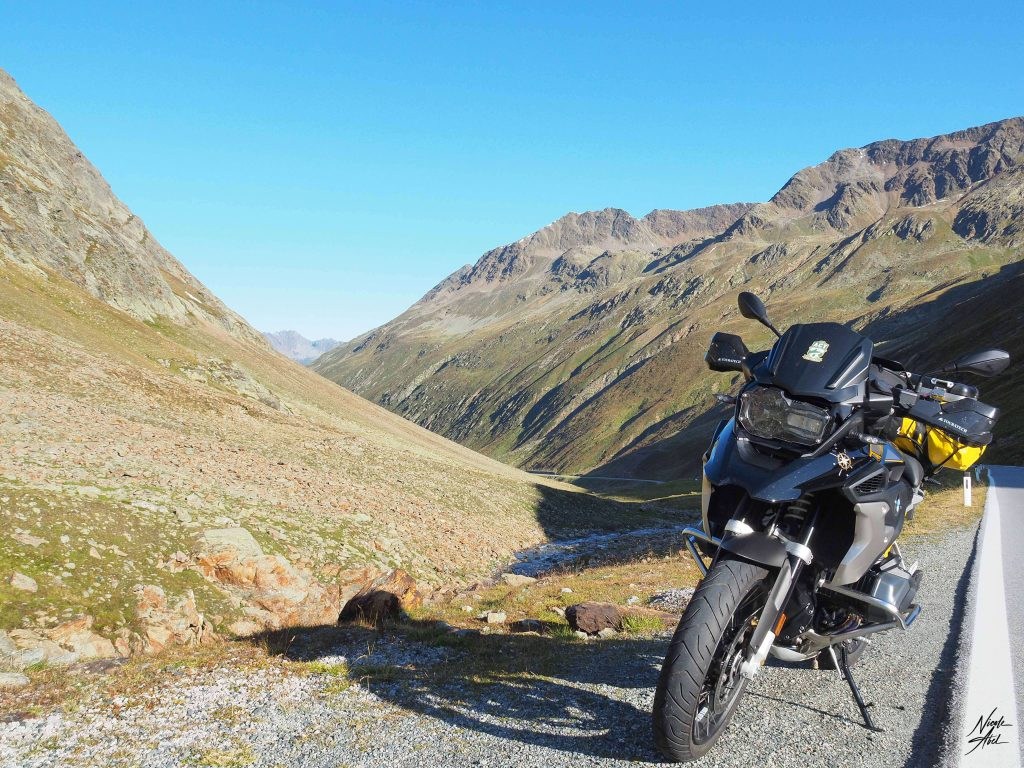 BMW R 1250GS in den Bergen