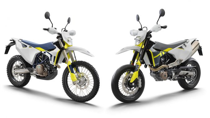 Husqvarna Enduro und Supermoto Modelljahr 2021
