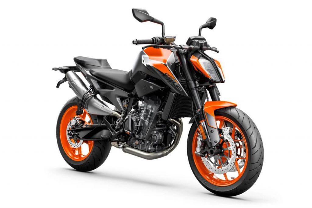 Duke 890 in orange