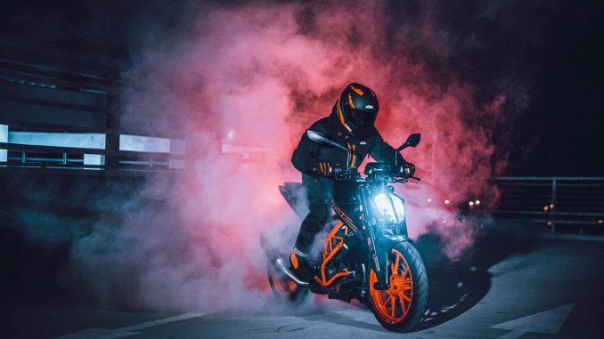 KTM Duke 125 im Modelljahr 2021