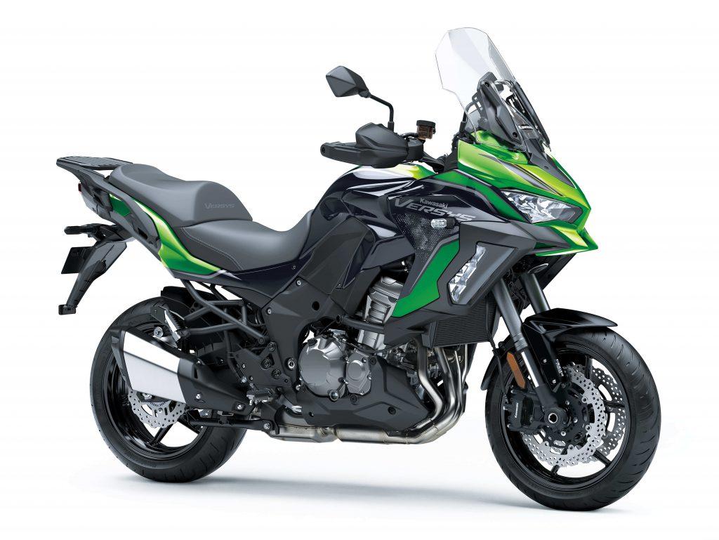 Kawasaki Versys 1000 SE in grün
