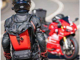 Motorradrucksack Bublebee