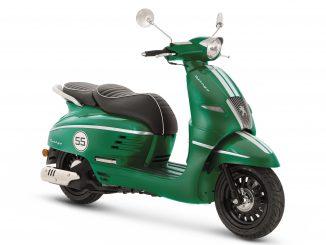 Peugeot Roller Django in Racing Green