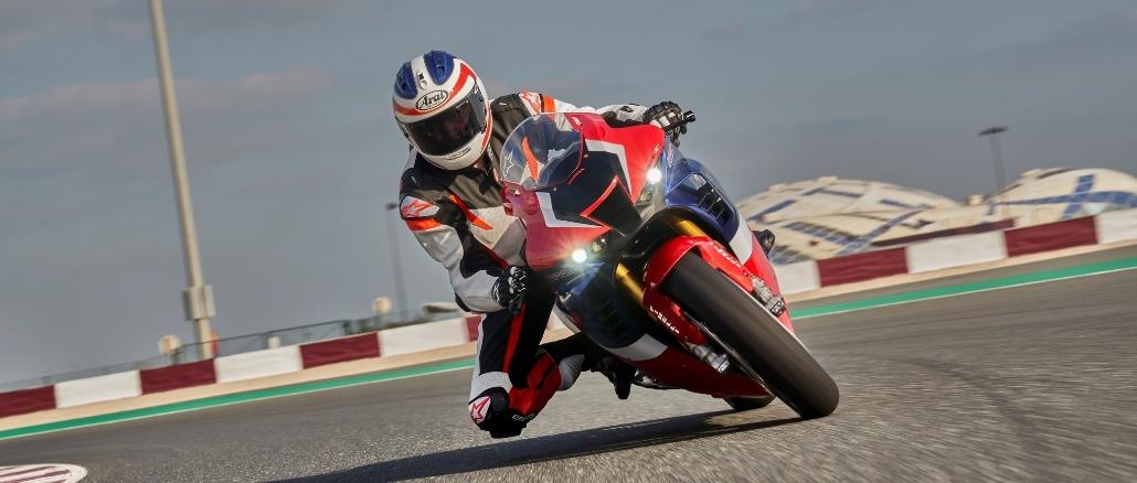 Mit Honda auf dem Sachsenring