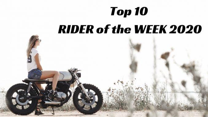 Top 10 RIDER of the WEEK 2020. Die beliebtesten Interviews mit Motorradfahrerinnen in 2020