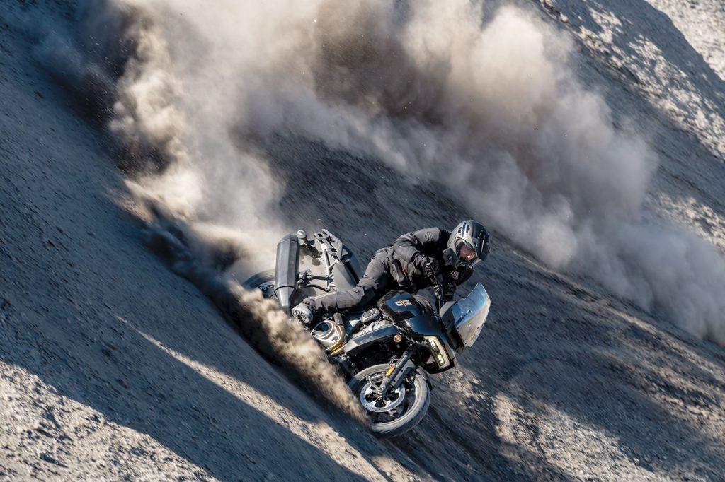 Gelände und Off-Road-Spaß mit Harley Davidson