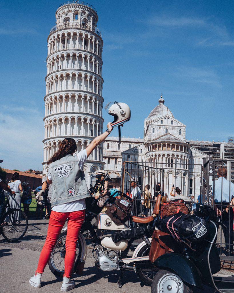 Maggies Miles in Pisa