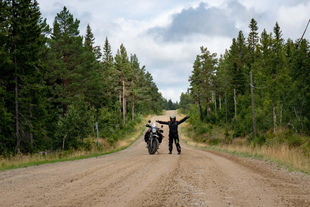Offroad in Norwegen - SHE is a RIDER