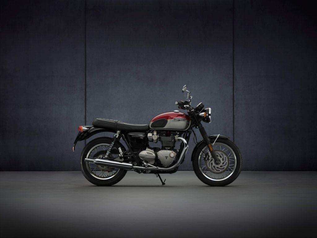 Triumph Bonneville für 2021 mit 3x mehr