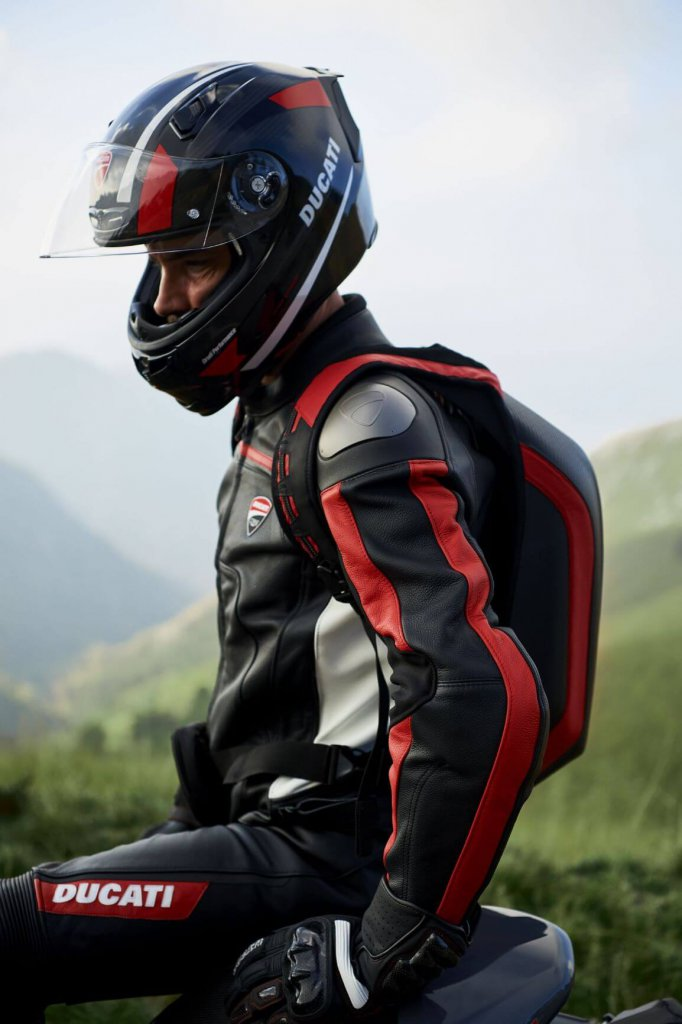 Ducati Reisegepäck Redline Kollektion Rucksack