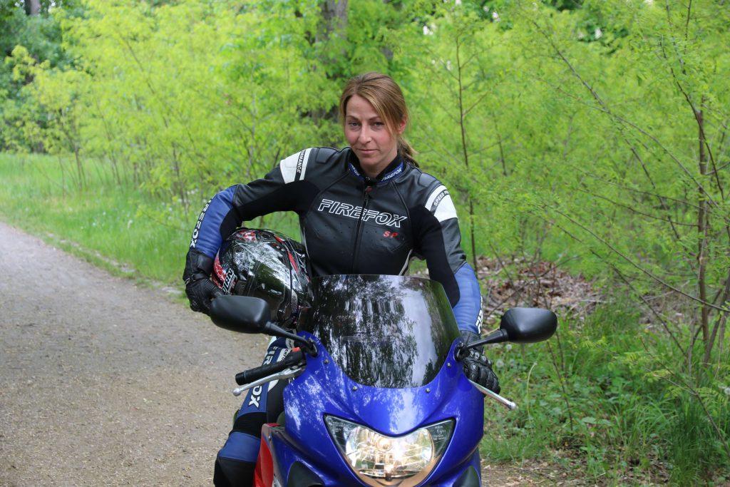 Honda CBR600F ist das Motorrad für private Touren an die Ostsee