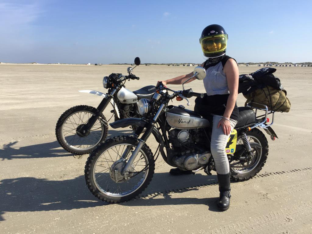 Motorrad-Events mit Nina und Rengas Motowear