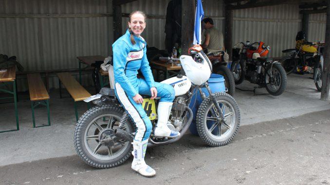 Nina Lange Gründerin Rengas Moto Wear - SHE is a RIDER