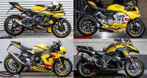 Dunlop Bikes 2021 stehen bei Motorradhändlern kostenlos zur Probefahrt bereit