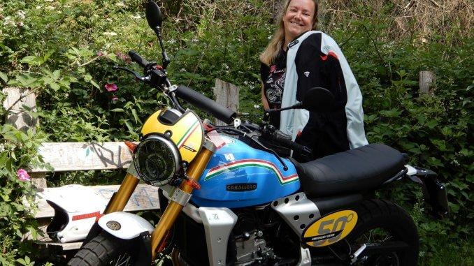 SHE is a RIDER - Tine fährt Triumph
