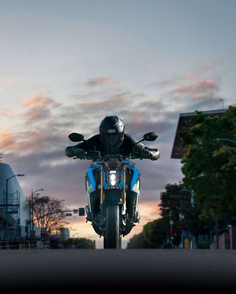 Suzuki GSX S 1000 Sunset Sonnenuntergang