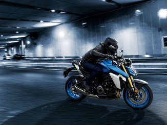 Suzuki GSX S1000 in aggressiven Design