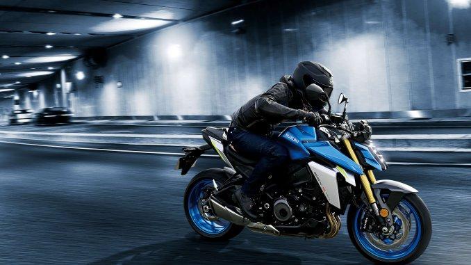 Suzuki GSX S1000 in aggressiven Design