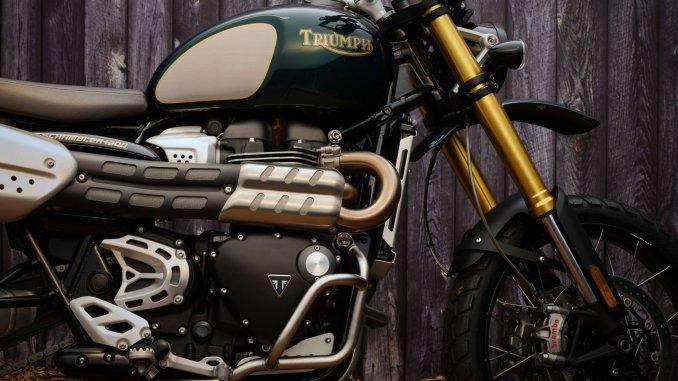 Triumph Scrambler 1200 Steve McQueen