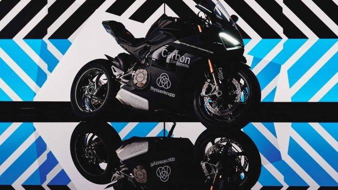 thyssenkrupp Carbonfelgen für Ducati Panigale V4