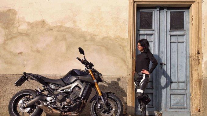 SHE is a RIDER - Doreen und ihre Yamaha MT 09