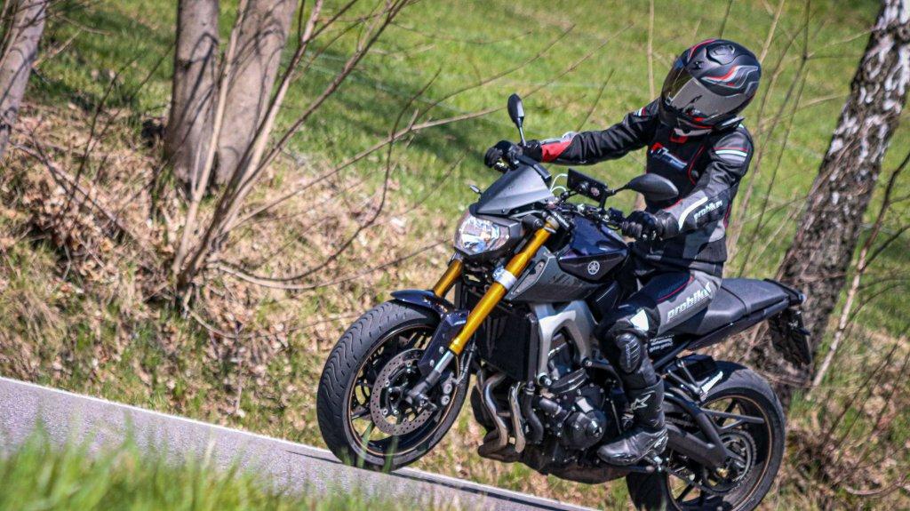 Mit der Yamaha in den Harz.