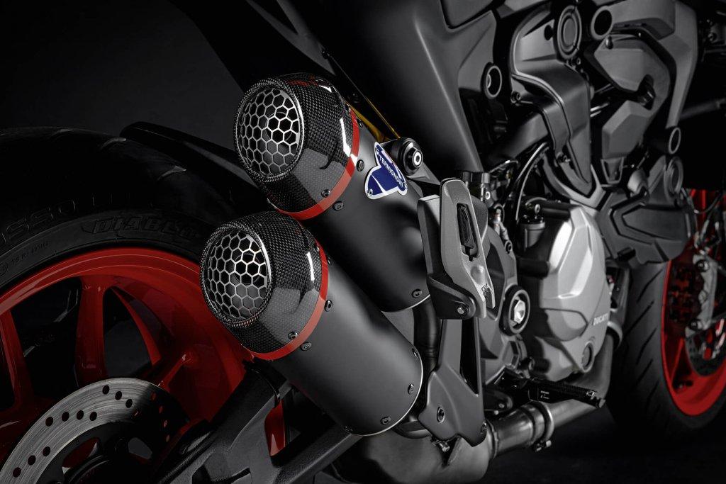 Ducati Monster Zubehör Euro-5-Norm homologierte Termignoni Endschalldämpfer