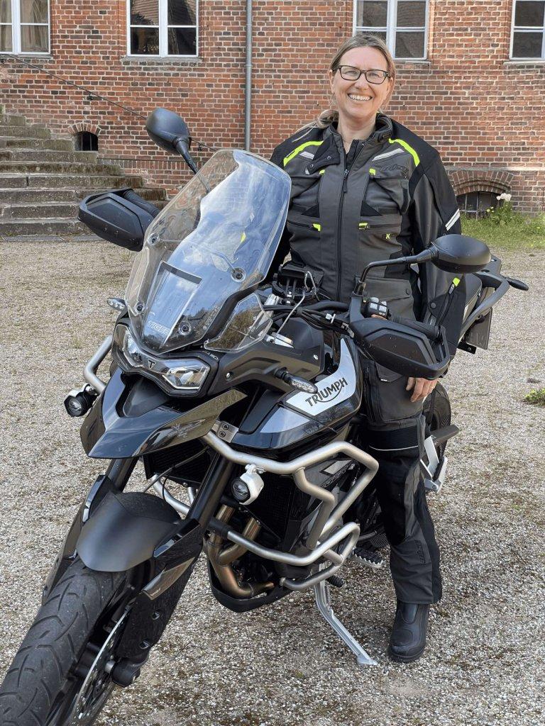 Büse Motorradkombi Porto im Test auf SHE is a RIDER