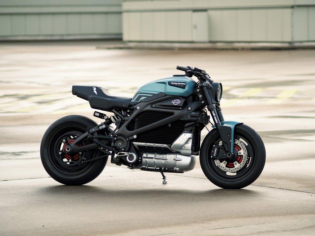 Harley Davidson Live Wire customized von JvB