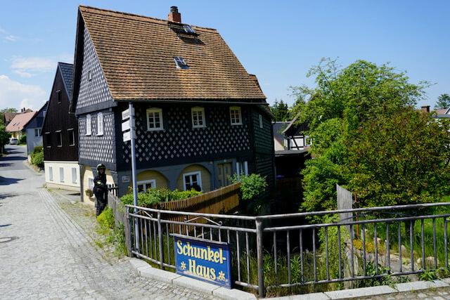 Motorradtour Oberlausitz - Schunkelhaus