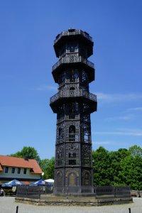 Motorradtour Oberlausitz - Gußeiserner Turm