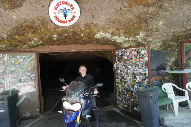 Motorradtour Oberlausitz - Bikerhöhle