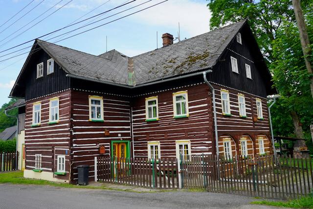 Motorradtour Oberlausitz - Umgebindehaus in Tschechien