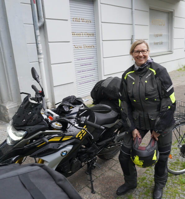Motorradtour Oberlausitz - die Abreise