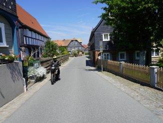 Motorradtour Oberlausitz - Umgebindehaus