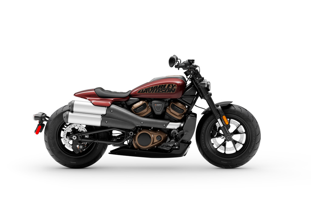 Harleys aufregende Lackfarben