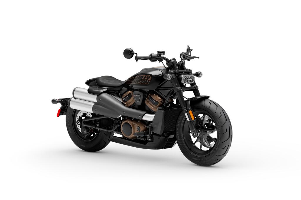 HD Sportster S in schwarz