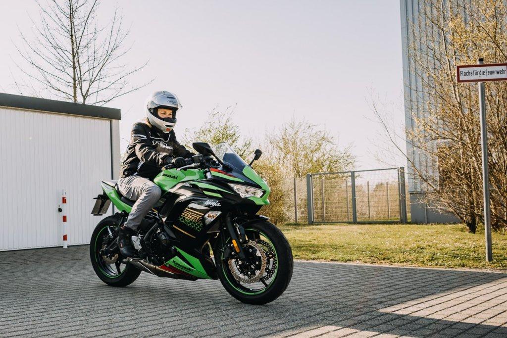 Kawasaki Ninja 650 im Fuhrpark bei Polo Motorrad