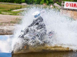 Enduro Training Wassergraben