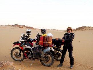 mit dem Motorrad nach Südafrika - Tanken im Sudan