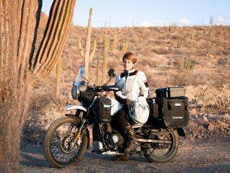 Anna ist mit Mann und Motorrad in Mexiko unterwegs. Ziel ist Patagonien.