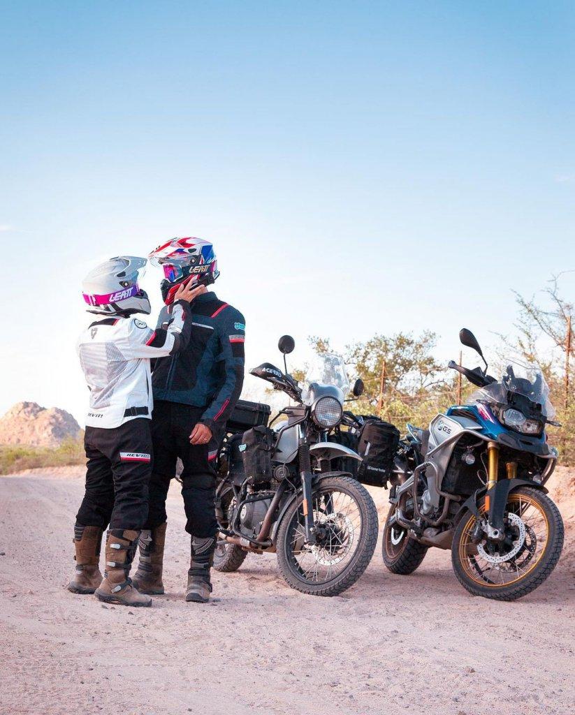 Anna und Andrea sind als Riding Pandas von Mexiko bis Patagonien auf ihren Motorrädern unterwegs.