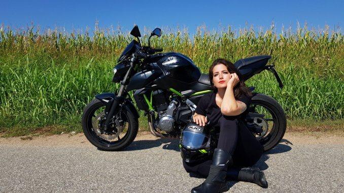Christina ist mit dem Motorrad im Lockdown über 26.0000 km gefahren.
