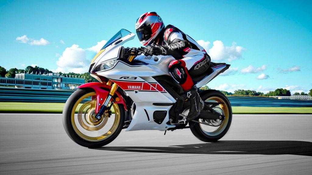 Yamaha YZF R3 World GP 60th Anniversary