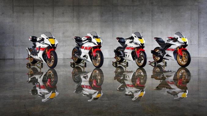 Yamaha R Serie für 2022 zum 60 Jubiläum in der Moto GP