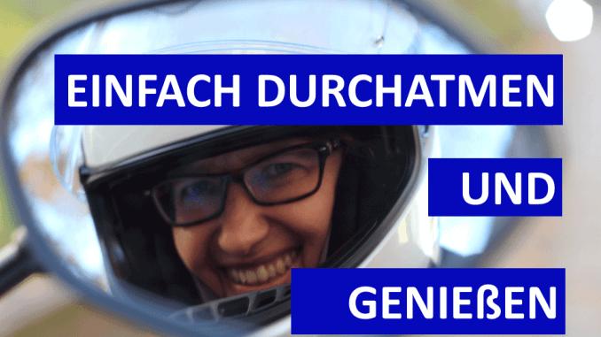 Sabines Motorradkolumne auf SHE is a RIDER