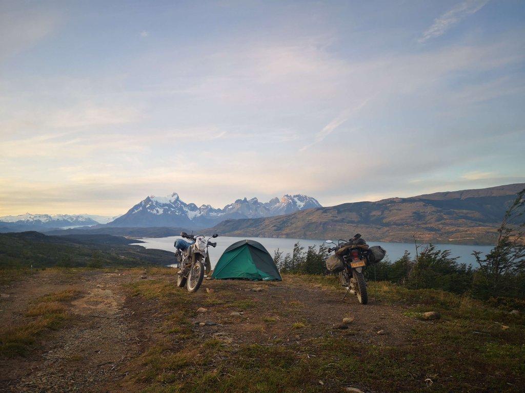 Motorradreise bis Chile mit Camping