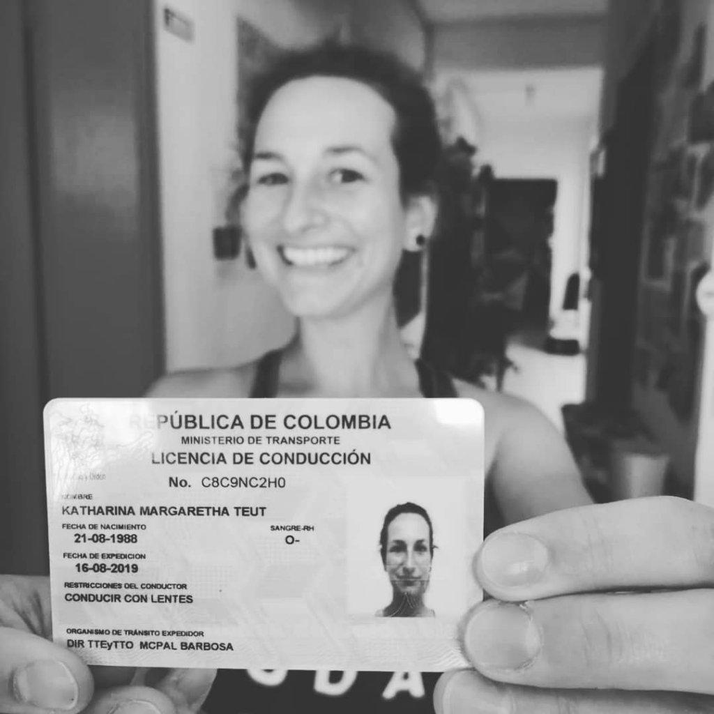 Motorradführerschein auf Motorradtour in Kolumbien